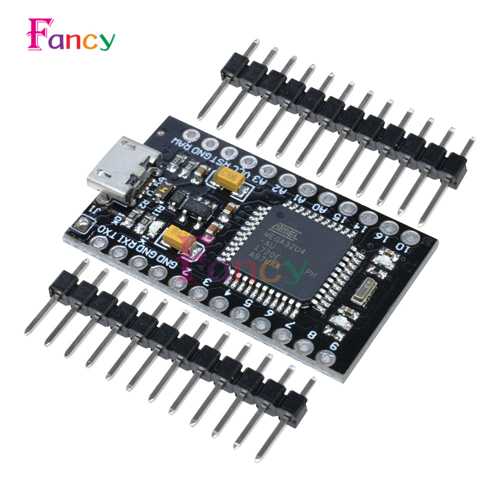 ATmega32U4 5V 16MHz Nano Pro Micro USB Controller Board For Arduino With Bootloader Mega32U4 Mini Leonardo ATMEGA32U4-AU Module 5v 2 channel ir relay shield expansion board module for arduino with infrared remote controller