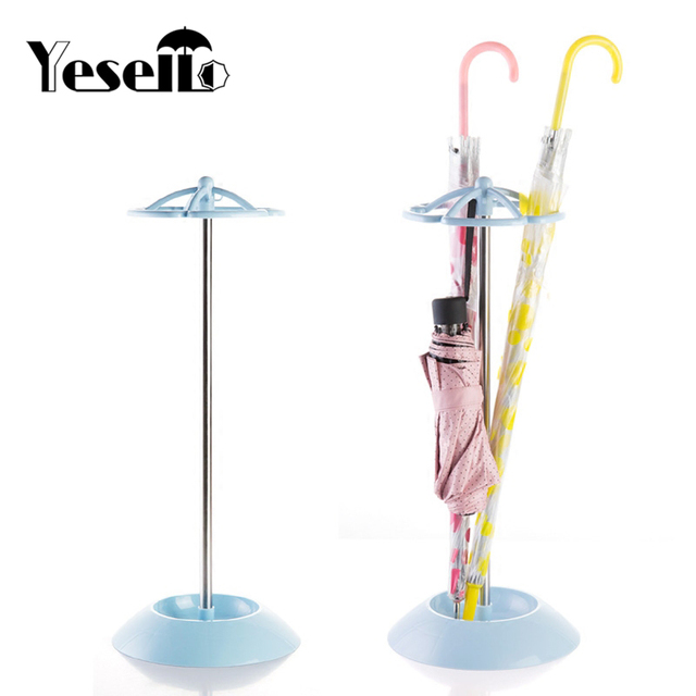 Yeo Stainless Steel 5 Holes Umbrella Stand For Storage Rack Holder Shelf Draining Water Dry Umbrellas Hanger
