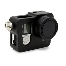 NEW Aluminum Extension Protective shell, For Gopro4 Frame Housing Case +UV filter FOR Go Pro HERO4 HERO 4 camera Accessory