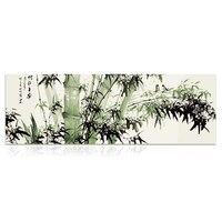 Jah-H037 Optional große größe Max 140x420 cm Rahmenlose bild auf wand malen nach zahlen diy ölgemälde durch zahlen Bambus