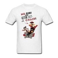 Người đàn ông Từ Mô Hình đồ họa Sơ Mi Rancho Thiết Ronflex Relaxo t-shirts cho tuổi teen Vít Cổ Nhận Được ra khỏi Ghế này Tees Giá Rẻ Bán Buôn