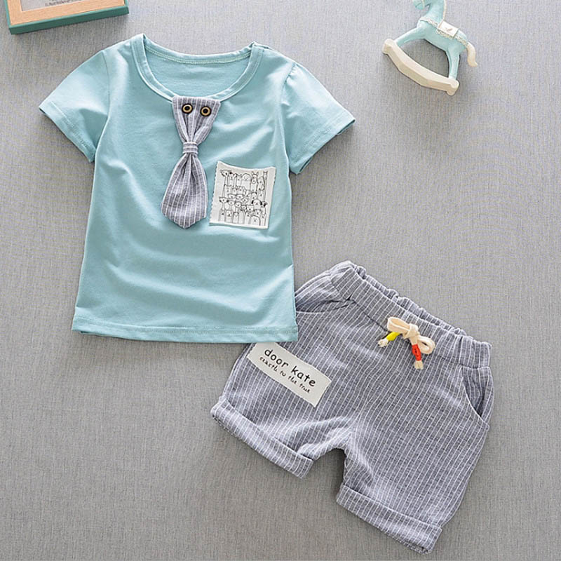 HTB1mvBEbxiH3KVjSZPfq6xBiVXa5 - Baby Boys Clothing Set Summer Tops Shorts Cotton Children Kids Sport Suit 1st Birthday Costume Toddler Boys Formal Clothes Sets