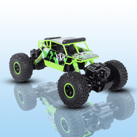 RC Car 2.4G 4CH 4WD 4x4 Driving Double Motors Drive Bigfoot s Remote Control s Model Off Road Vehicle Truck Toy