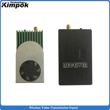 5.8G FPV Video Link 1200mW Wireless Transmitter and  Receiver, 5.8Ghz Long Range Video Sender for UGV/UAV Wireless Link