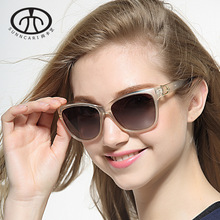 Chashma  New Fashion Women Sun Glasses Polarized Lenses with PC Frame Female Sunglasses