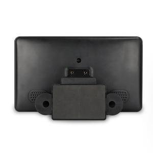 Image 5 - 1024x600 9 رقيقة جدا TFT LCD مسند الرأس دي في دي شاشات HD فيديو المدخلات راديو AV رصد لسيارة الصوت أندرويد مشغل ديفيدي الخلفية كام