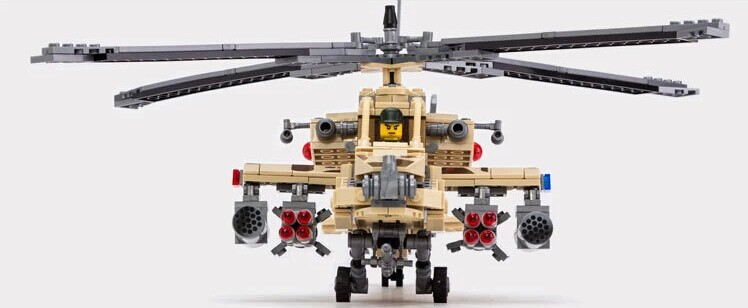Military toy fighter The Vietnam war Apache helicopter gunships ...