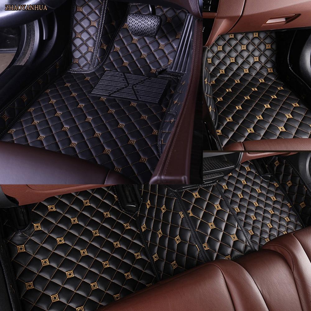 ZHAOYANHUA Car floor mats for Audi A1 A3 A6 A7 A8 Q3 Q5 Q7 TT 5D car-styling heavy duty all weather carpet floor linerZHAOYANHUA Car floor mats for Audi A1 A3 A6 A7 A8 Q3 Q5 Q7 TT 5D car-styling heavy duty all weather carpet floor liner