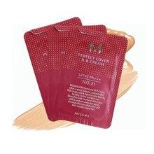 3 шт. MISSHA идеальная крышка крема ВВ#21#23 пробный пакет тональный, для придания яркости водонепроницаемый пробный пакет