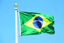 Brazil Banner Free shipping 90*150cm Hanging National flag Brazil Home Decorationbanner(China)