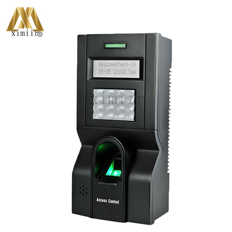 ZK Biometric Fingerprint Access control And Time Attendance F8 Door Access Control System TCP/IP Fingerprint Access Controller gprs real time fingerprint access guard tour system