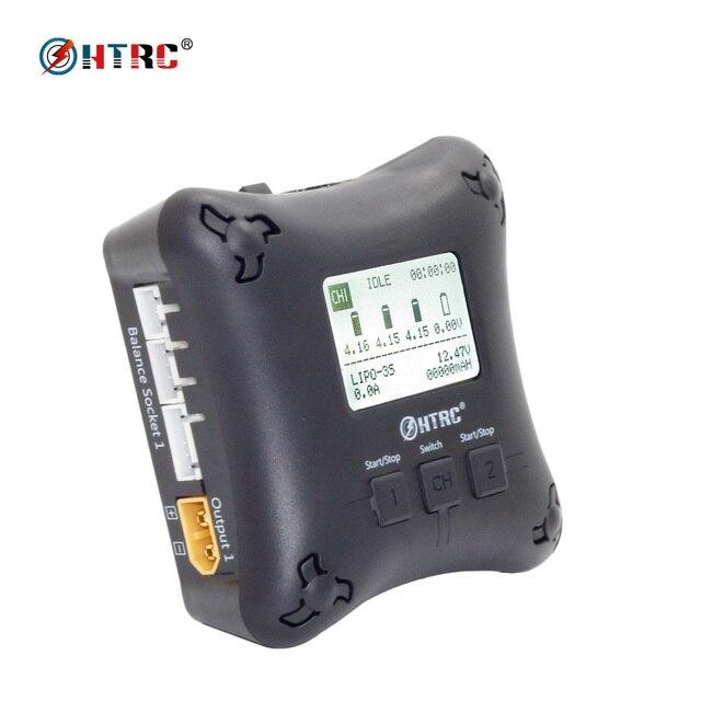htrc h4ac duo mini rc charger dual port 20w x2 2a x2 for 2 4s lipo rh aliexpress com Extreme Dimension Mini Phantom Starburst Mini Phantom