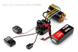 SKYRC TORO TS150A 1/8 Car Brushless Sensored ESC Support Bluetooth For Rc Cars Parts