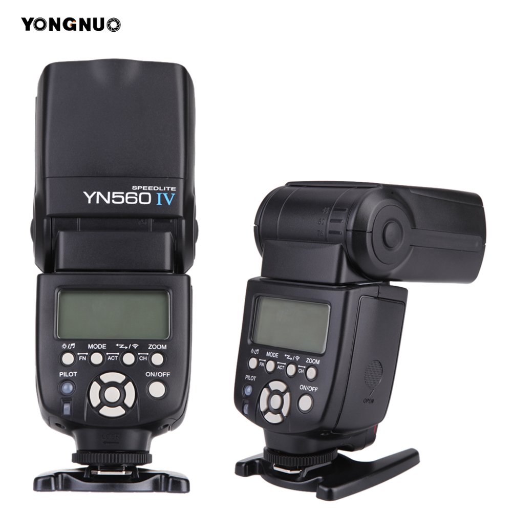 Yongnuo YN560 IV YN560IV 2.4G Wireless Master Slave Flash Light Speedlite Speedlight for Canon Nikon Pentax Olympus DSLR Cameras genuine meike mk950 flash speedlite speedlight w 2 0 lcd display for canon dslr 4xaa