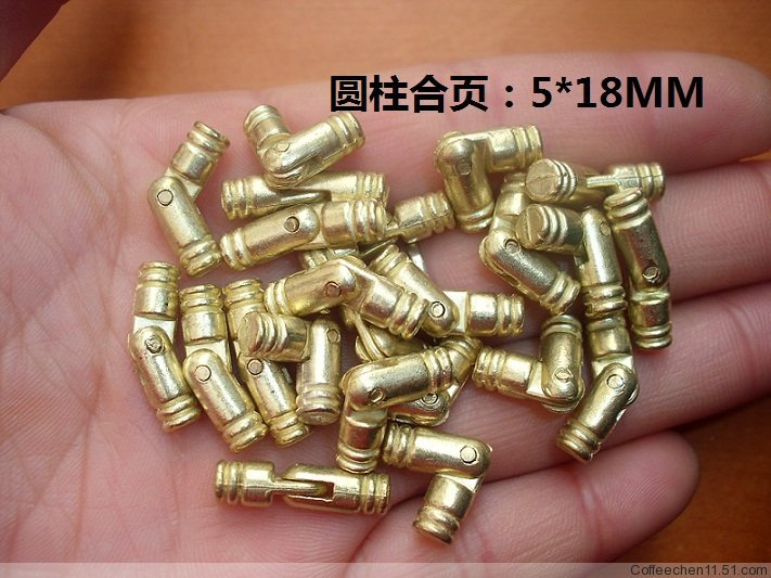 50PCSLOT 5 18 Barrel Hinge cylindrical hinge hardware support