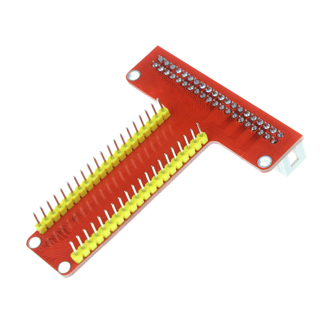 Raspberry Pi 3 Model B GPIO Adapter Plate T Cobbler Gold Plug-in Version+MB-102 830 Points Breadboard + GPIO Cable Kit