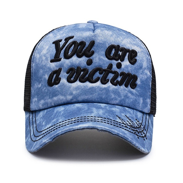 Your Are A Victum Snapback