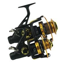 TSURINOYA NA3000 5000 4000 8000 13BB 5:2:1 Fishing Reel Aluminum Spinning Fish Tool Automatic Folding Handle