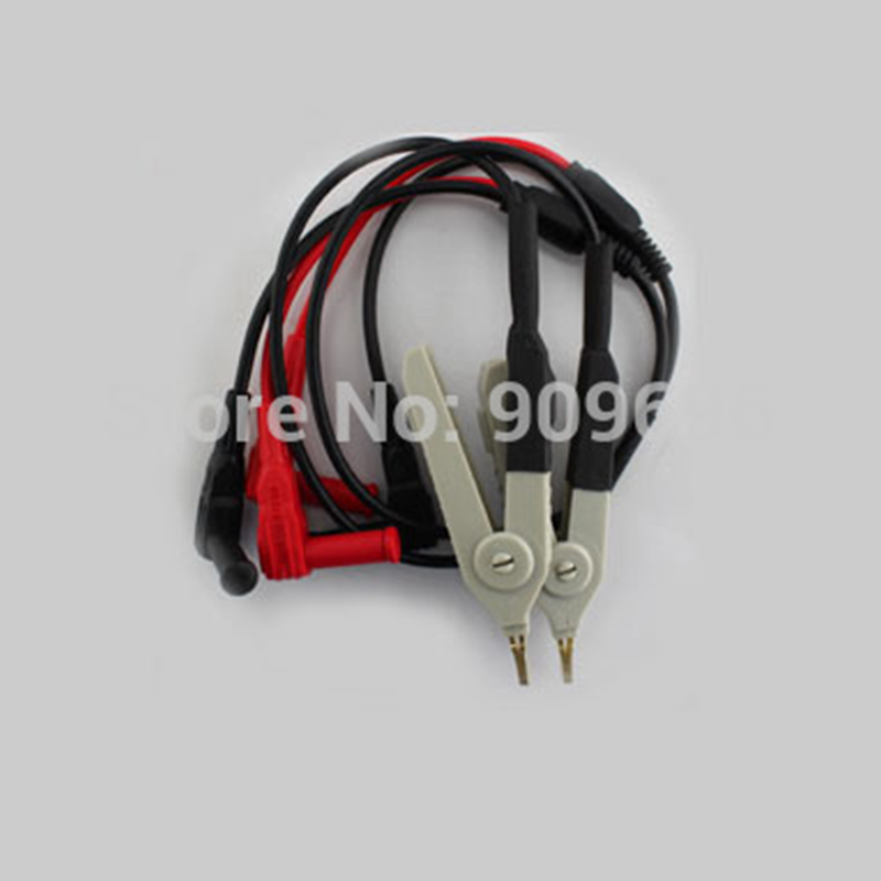 1pair UNI-T Parts Kelvin Test Line Wire Cable Cord For UT612/UT611 Free shipping 1650 free shipping 4 10 20 50pcs metal grips for cable lock 15mm tube cord cable wire grips m6 ceiling plate connect for pendant lamp