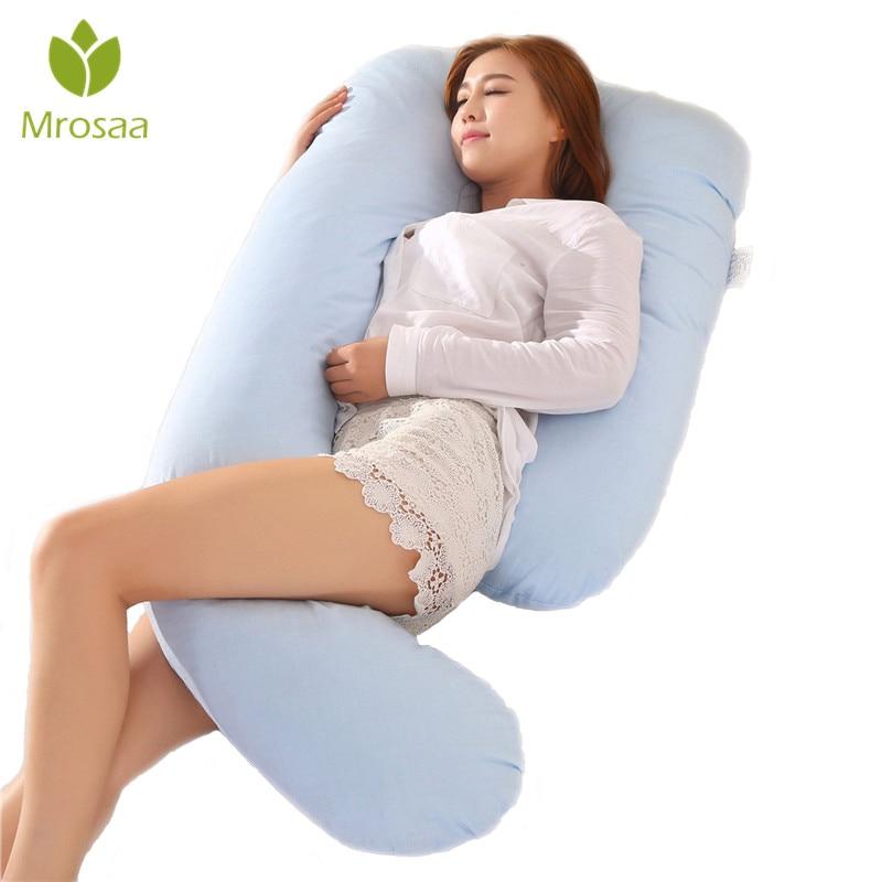 Mrosaa J Shape Pregnancy Comfortable Pillows Maternity