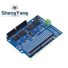 ShengYang 1 sztuk silnik/krokowy/serwo/Robot tarcza dla Arduino I2C v2 zestaw w/ PWM sterownik góry