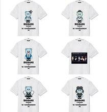 Kpop home BIGBANG MADE Concert GD TAEYANG SEUNGRI The Same Little Bear Summer Short Sleeve Tshirt