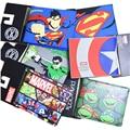 Comics DC MARVEL Avengers Batman/Iron Man Ultron/Capitán América/Superman Logo Bolso de Crédito Tarjeta de Licencia de Ostras Carteras porta