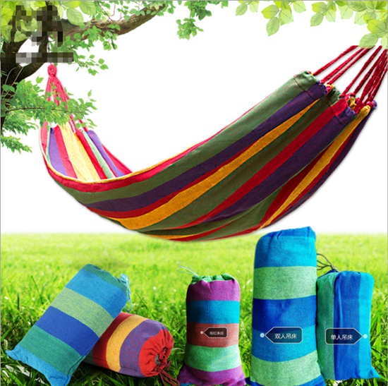 Portable Parachute Hammock Outdoor Camping Travel Furniture Swing Hanging Sleeping Bed Survival Garden Hunting Leisure Hammock portable parachute double hammock garden outdoor camping travel furniture survival hammocks swing sleeping bed for 2 person