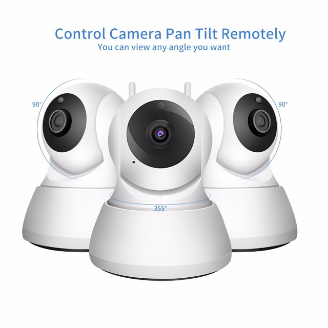 SDETER Home Security IP Camera Wi-Fi 1080P 720P Wireless Network Camera CCTV Camera Surveillance P2P Night Vision Baby Monitor 5