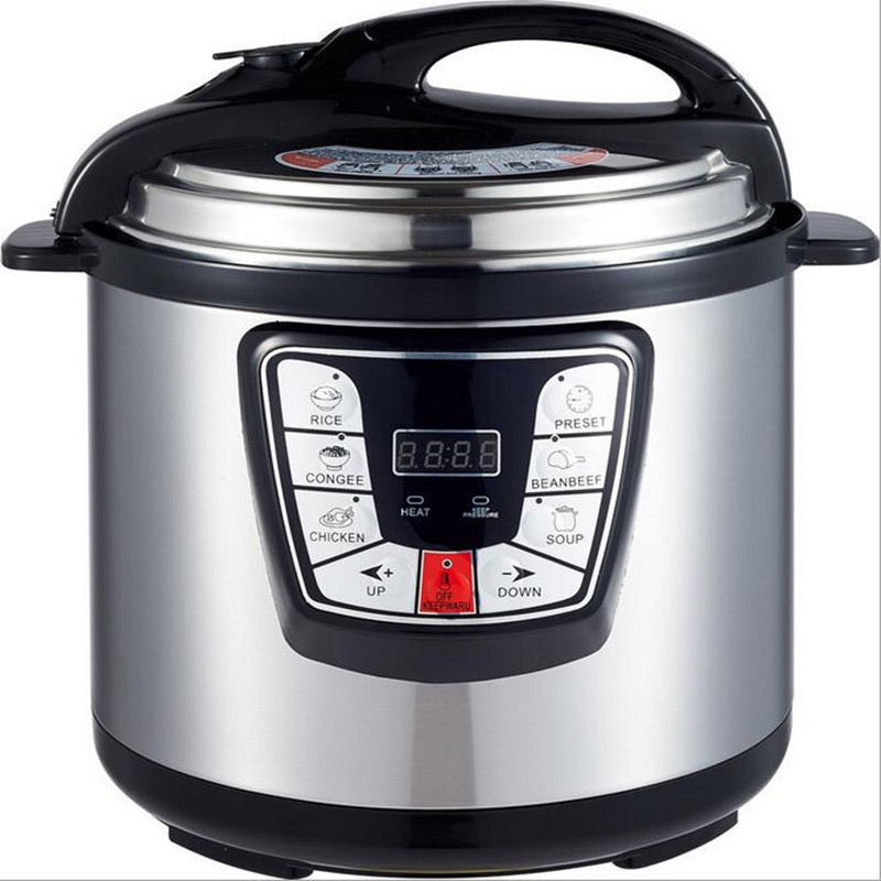 12L Commercial Electric Heating Cookers Steaming Cooking Kitchen Rice Cooker