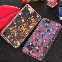 For IPhone 5 5S 6 6S Plus Luxury Liquid Glitter Phone Case Sand Capa Quicksand Star