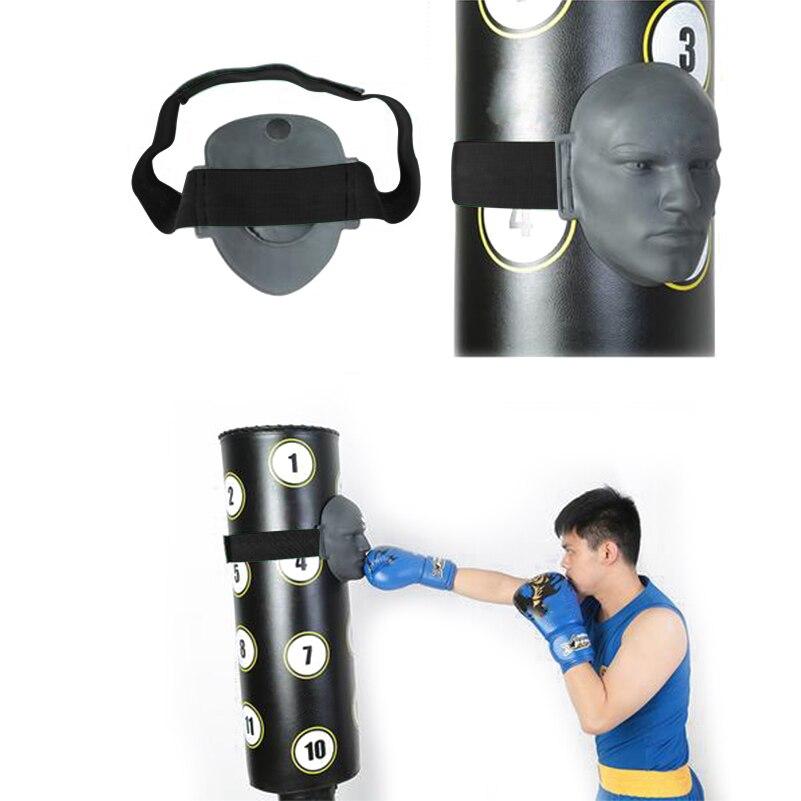 En Caoutchouc Vivid Mannequin Humain Visage Mitt Boxe Kicking Pad MMA Taekwondo Jab Combat Sparring Formation Pression Soulagement Poinçonnage Cible - 6