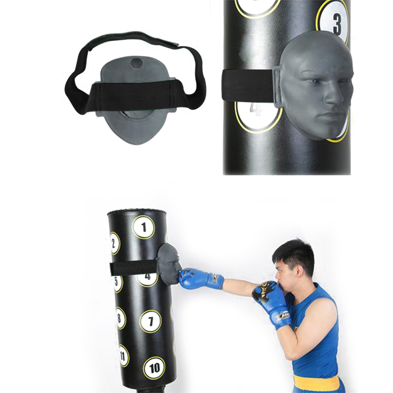Gant de boxe visage factice en caoutchouc vif MMA Taekwondo Jab combat Sparring entraînement soulagement de la pression cible de poinçonnage - 6