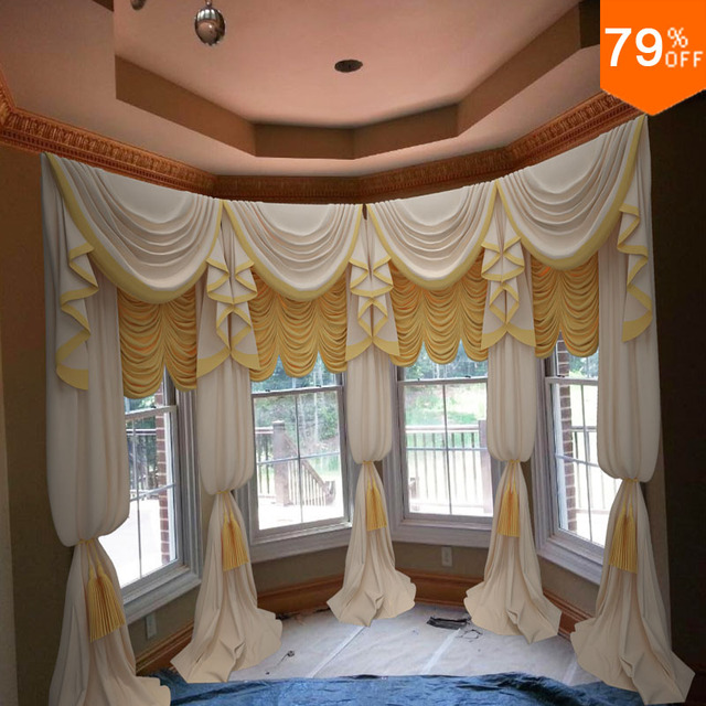 factory 2017 pure color curtain Roman Blinds with Waving folds for ...