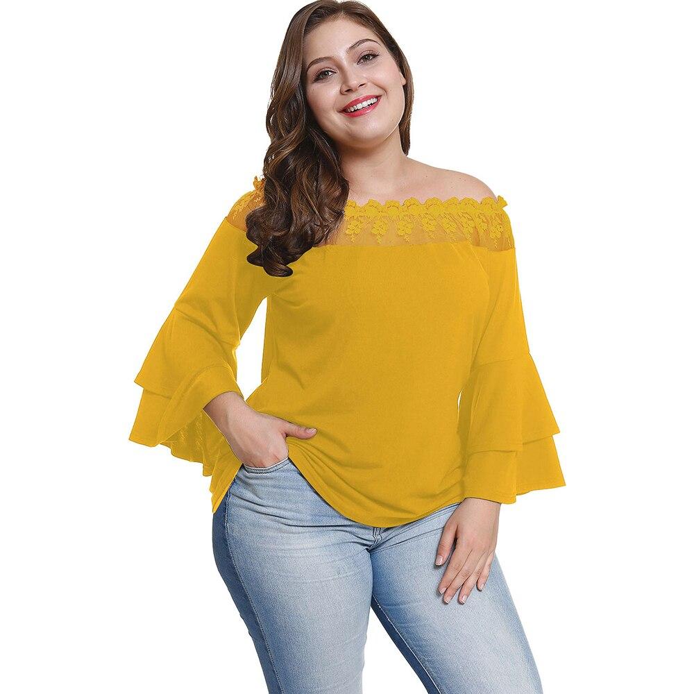 7c781555dd Women Blouses Sequin Top Plus Size Sequins Patchwork Strapless Tunic ...