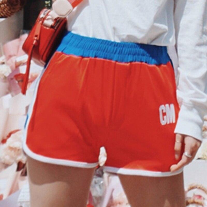 Hip Hop Dance Costumes Woman Red Short Pants Ballroom Dancing Festival Wear Women SexyPerformance Clothes Adult Ladies DT682