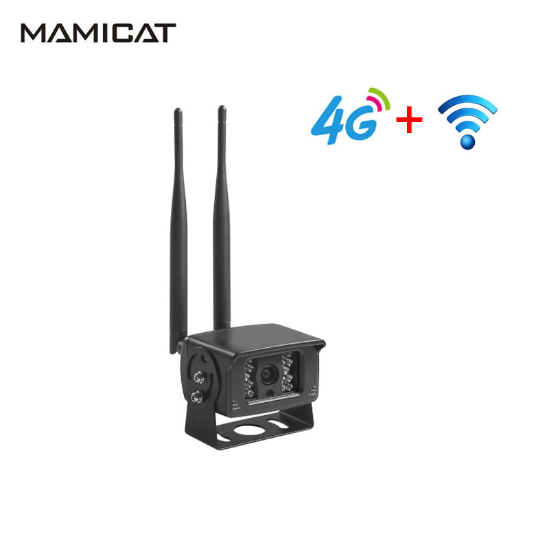 1080 P 3G 4G carte SIM caméra CCTV sans fil WIFI IP Surveillance de sécurité à domicile 12 V voiture Audio enregistrement caméra Vision nocturne P2P