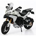 Maisto escala 1:12 aleación diecast modelo de la motocicleta y abs ducati multistrada 1200 s motor de juguete modelo de bicicleta vehículo mini toys juguet