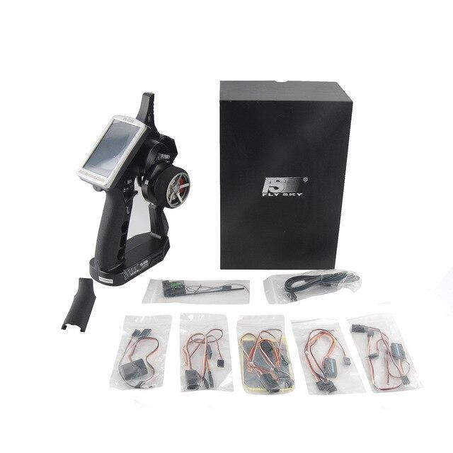 FlySky FS-iT4S 2.4 ghz 4CH 2 Pistolet AFHDS RC Radio Système Émetteur Contrôleur avec Écran Tactile iT4S PK FS iT4 i4 pour RC Voiture Bateau