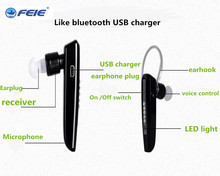 Best Quality Analog like Bluetooth style or BTE Hearing aid rechargeable sound amplifier S-101 for the elderly