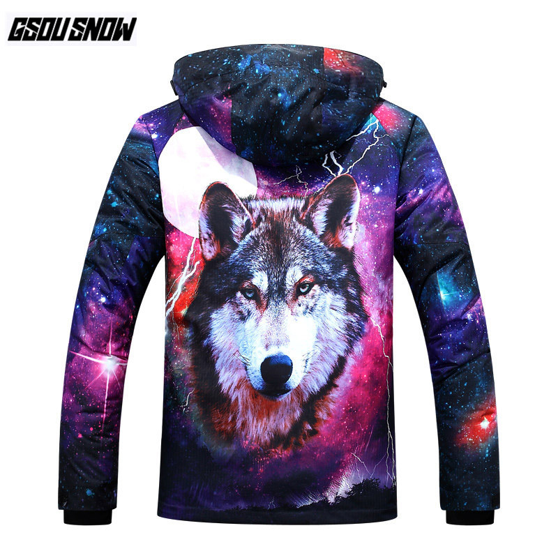 GSOU SNOW Brand Ski Jackets Men Snowboard Jackets Winter Sport Skiing Clothing Male Cheap Waterproof Snowboarding Snow Clothes цена