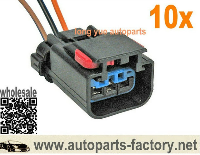 longyue 10pcs speed sensor vss 3 terminal pigtail connector plug rh aliexpress com 2003 Crysler Town and Country Wiring Diagrams Automotive Pioneer Car Stereo Wiring Diagram