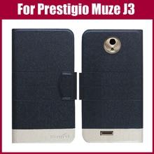 Лидер продаж! Prestigio Muze J3 чехол Новое поступление 5 цветов модный кожаный чехол с откидной крышкой и ультра-тонкий кожаный защитный чехол-сумка для телефона