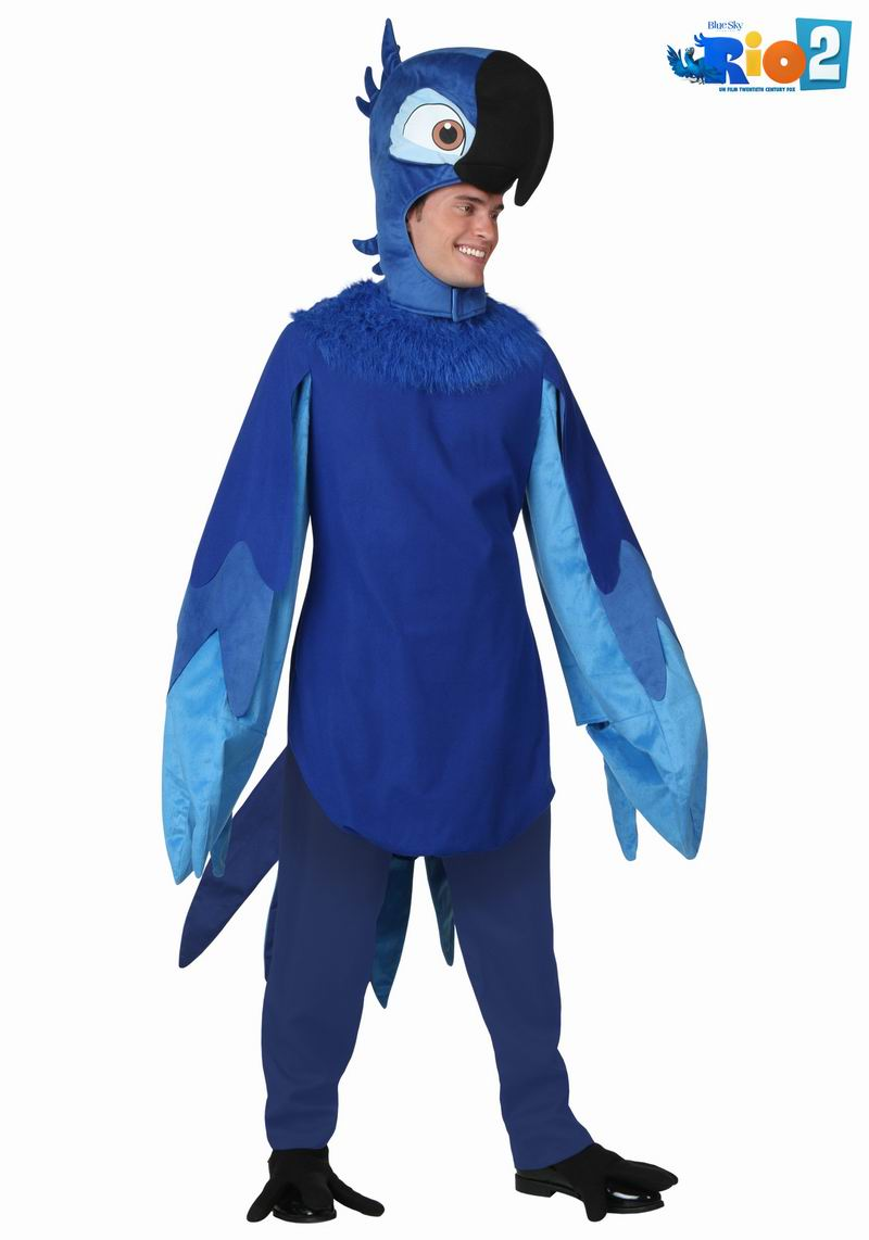 New Irek Cosplay Party costume adult children Halloween Costume classic Blue Parrot Macaw costumes prom clothing