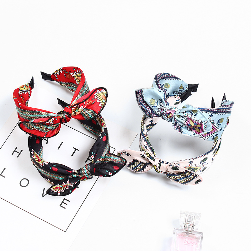 Back To Search Resultsapparel Accessories Clever Ruoshui Bohemia Floral Hairband For Woman Girls Bows Headbands Leopard Haarband Hair Accessories Diademas Para El Pelo Mujer Extremely Efficient In Preserving Heat