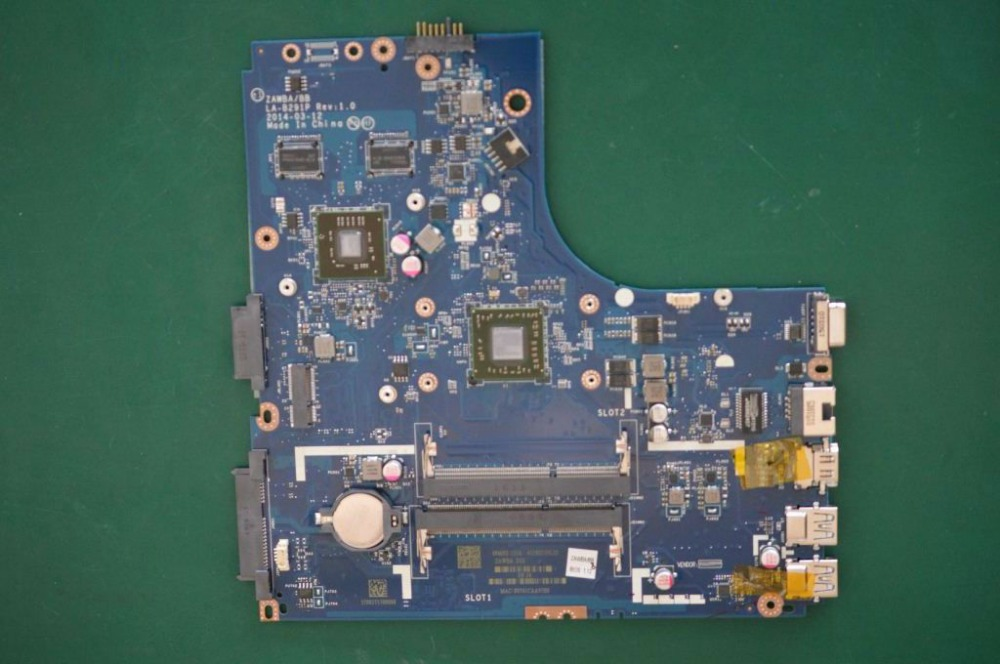 Free Shipping Tested LA-B291P mainboard for Lenovo B40-45 motherboard with on board Video card free shipping for lenovo ideapad g585 notebook motherboard qawge la 8681p with ati video card one ram slot