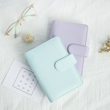 лучшая цена Harphia Spiral loose leaf binder refillable travel journal notebook filofax planner agenda notepad  A5 A6 student gift
