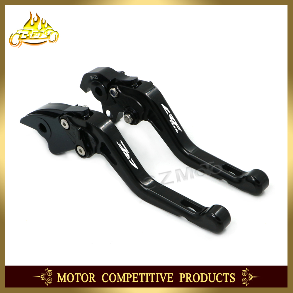 Adjustable Short New Style Brake Clutch Lever Aluminum Motorcycle Accessories For HONDA CRF1000L CRF1000 CRF 2015-2017 2016 CNC 2016 new style 3d short cnc adjustable brake clutch lever for honda x 11 99 02 f xx h 626 motorbike motorcycle brake levers