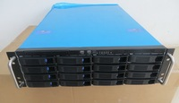 Server Computer Case 3U Hot Swappable Store 16 Disk Data ERP DVR KTV Mail Server Chassis