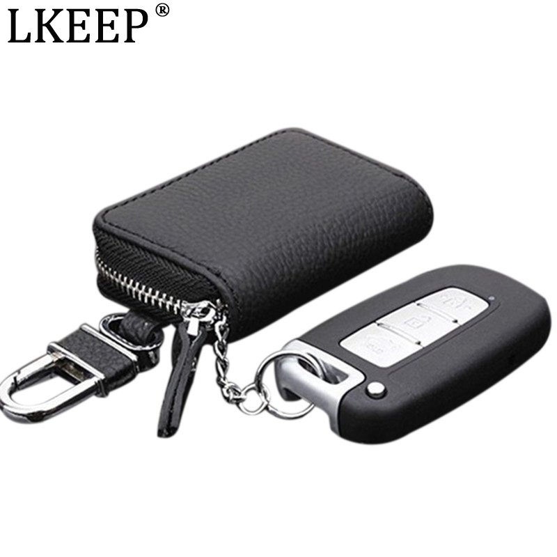 PU Leather Car Key Wallets Men Key Holder Housekeeper Keys